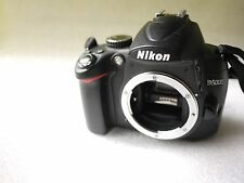 Nikon D5000 12.3MP DSLR Camera Body customised with KatzEye viewfinder boxed