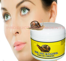 SNAIL CREAM GEL BABA CREMA DE CARACOL 4 Oz cellulite wrinkles scars 100% natural