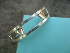 100% Genuine Tiffany & Co heart stencil bangle - sterling silver