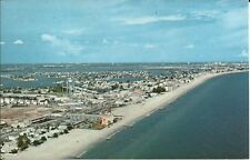 Old Vintage Aerial View Of Madeira Beach Florida Postcard
