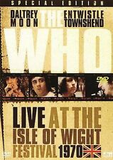 Brand New The Who - Live at the Isle of Wight DVD 2006 Free Ship