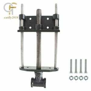 """New 7"""" Cast Iron woodworking bench vise Front Screw Vise For Workbench"""