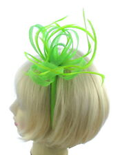 Green fascinator headband for Ascot , Races, Weddings, Ladies Day