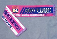 Echarpe Football Collector 2011-2012  - Coupe d'Europe - Olympique Lyonnais