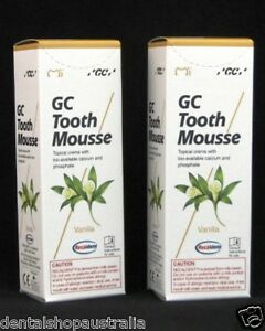 GC Tooth Mousse Vanilla twin pack V2