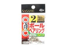 Sasame 310-A Ball Bearing Swivels High Quality Size 2 (1577)