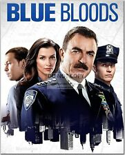 "TOM SELLECK DONNIE WAHLBERG WILL ESTES MOYNAHAN ""BLUE BLOODS"" 8X10 PHOTO (CC578)"