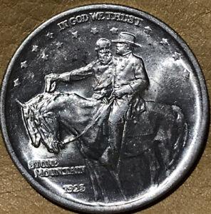 1925 Stone Mountain Commemorative Silver Half Dollar UNCIRCULATED