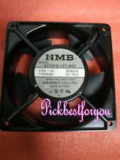 1PC NMB 4715FS-12T-B50 AC115V 0.21//.19A 120X120X38MM Aluminum frame fan