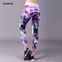 Womens Compression Sports Skin Tights Trousers Running Gym Yoga Pencil Pants