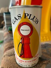 GAS PLUS PetroLon Coal Power Fuel System Cleaner MINT Vintage Oil Can 12oz FULL