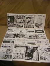 Lot of 40! Spirit Weekly Newspaper Comic Collectors Edition Reprints Will Eisner