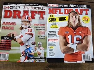 Athlon Sports 2021 Guide NFL DRAFT Trevor Lawrence + Lindy's Sports Pro Football