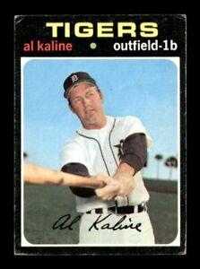 1971 Topps Set Break # 180 Al Kaline VG *OBGcards*