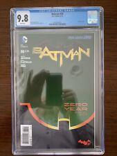 Batman #30 CGC 9.8 (DC 2014)  Embossed cover.  Key!