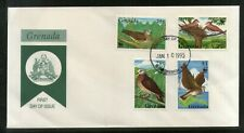 Grenada 1995 WWF Dove Birds Wildlife Animal Sc 2401-6 FDC # 6447
