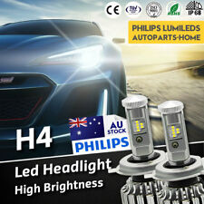 Nissan Patrol GU 1997 - 2013 LED H4 Headlights vs HID Xenon halogen globes bulbs