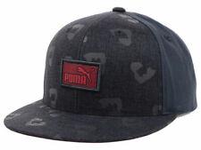 Puma Animal Print Charcoal Gray Adjustable Snapback Cap Hat