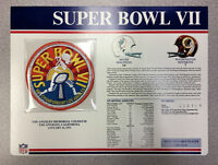 Super Bowl VII Patch Miami Dolphins vs. Washington Redskins