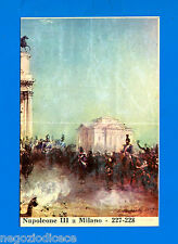 CENTENARIO UNITA D'ITALIA - Figurina-Sticker n. 227-228 -  -Rec