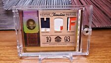 2006 Playoff National Treasures Walter Payton Patch Card HOF /15 Game Used!!
