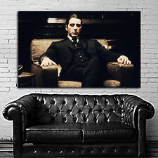 #16 Poster Movie Godfather Mob Gangster 40x60 inch (100x150 cm) Adhesive Vinyl