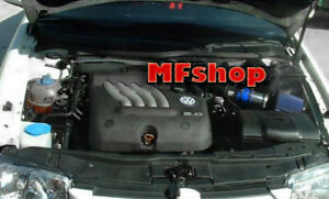 BLUE For 1999-2005 Volkswagen Jetta 1.8L 1.9L 2.0L 2.8L  Air Intake Kit + Filter