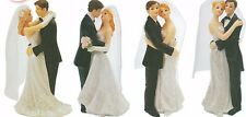 Bride and Groom Resin Wedding Cake Toppers Decorations