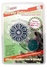 Thirsty Light Snowflake Christmas Tree Water Digital Moisture Sensor