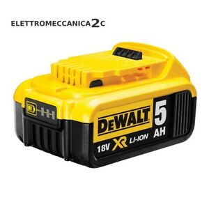 DEWALT DCB184 batteria litio 18v 5ah xr ORIGINALE
