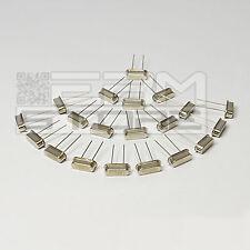 20 pz QUARZI 4-8-10-16-20 MHZ  XTAL HC49S MINIATURA - ART. CX01