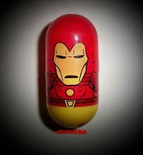 2003 Marvel Universe Mighty Beanz 9 IRON MAN Bean Series1 2004 Avengers NEW