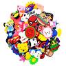 50pcs Random Cartoon PVC Shoe Charms Accessory For Clog Wristband Birthday Gifts