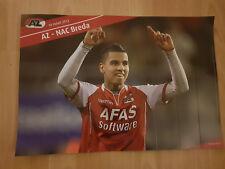 AZ Alkmaar v NAC Breda 18-03-2012 paper hand clapper / voetbalklapper