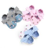 Newborn Kids Baby Girl Flower Shoes Casual Summer Prewalkers Children Shoes Hot