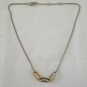 MARC BY MARC JACOBS LINKED CHAIN NECKLACE Near New