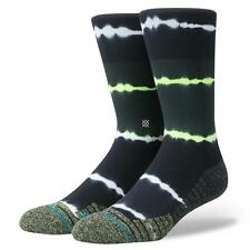 NEW STANCE SOCKS MEARA CREW FUSION M557A17MEA VLT | VOLT Mens Large 9-12