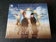 More details for stargate sg1 series 3 pt1 rare audio drama cd sealed shanks black new big finish