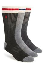POLO RALPH LAUREN Men's 179531 3-Pack Crew Socks Size one size