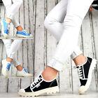 Zapatos mujer Informales Zapatillas de Deporte Cordones deportivas abotinadas