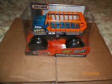 2014 MATCHBOX ON A MISSION 1/24 SCALE GROWLIN' GRABBER (BLUE) FREE U.S SHIPPING