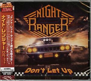NIGHT RANGER-DON' T LET UP-JAPAN CD BONUS TRACK F83