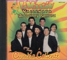 La Mission Vallenata De Johnny Zamora Cumbia Caliente CD New Sealed