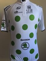 SMS Santini  Cycling Jersey TEAM SKODA Cycling Jersey Race Cut  Size2XL Castelli