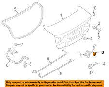 FORD OEM Trunk Lid-Trunk Lock Nut W700430S441