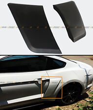 For 2015-2020 Ford Mustang GT Style Rear Fender Penal Flare Side Scoops Vents