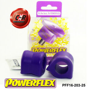 PFF16-203-25 Powerflex For Fiat Scudo1,2 95-07 Frnt ARB To Chassis Bushes 25mm