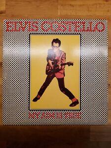 Elvis Costello My Aim Is True Promotional Album. Original 1977 Vinyl Pressing