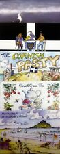 CORNWALL CORNISH HOLIDAY SEASIDE POSTCARDS COLLECTORS PACK OF FIVE (SET 1)