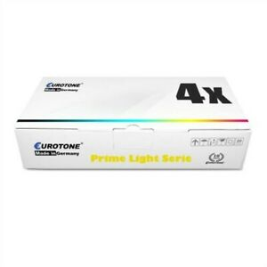 4x Eurotone Prime Toner / Chip For Kyocera FS-C-2026 FS-C-2126 Ecosys M-6526